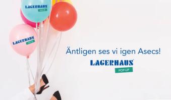 Lagerhaus återvänder till Asecs köpcentrum i Jönköping med ny pop-up butik! 1