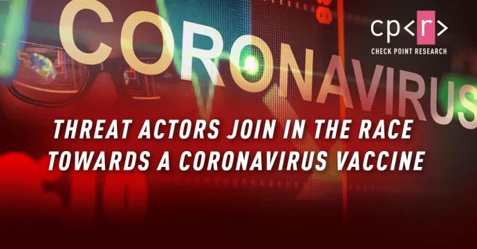 Hackare använder coronavaccinet för att komma åt känslig information