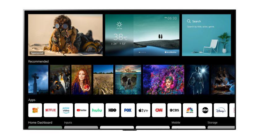 LG breddar smart-tv-plattformen webOS till tv-tillverkare och partners