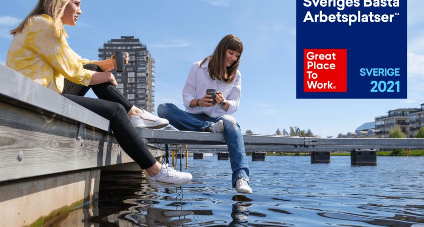 Elvenite ifrån Karlstad är en av Sveriges bästa arbetsplatser!