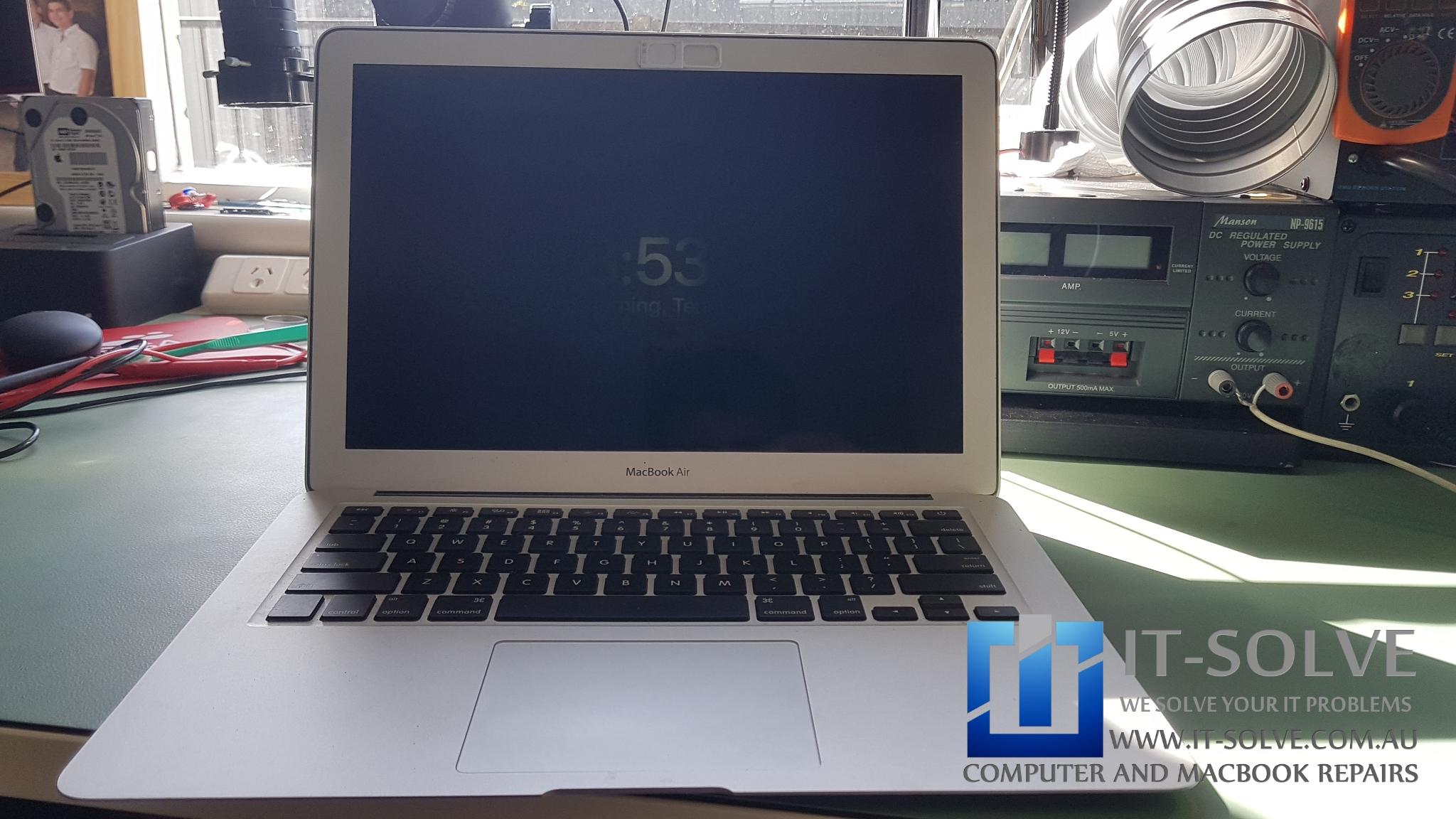 Macbook Air Backlight Repair