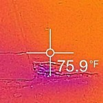 Thermal Image Moisture for Feature