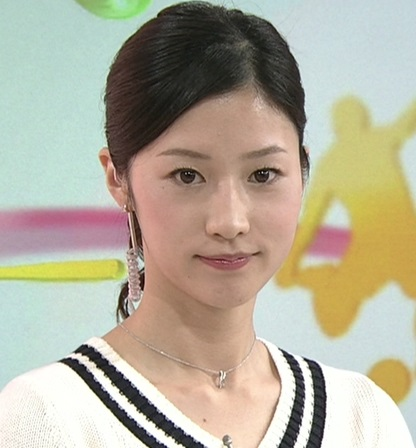 NHK森花子アナがかわいい!スポ...