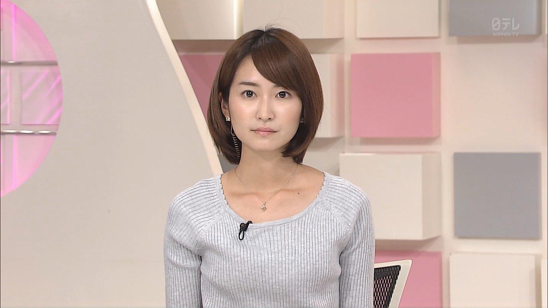 日本テレビ中島芽生アナがかわい...