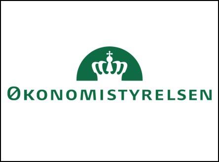 Økonomistyrelsen logo, kunder IT Univers