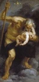 Saturno che divora proprio figlio - Peter Paul Rubens