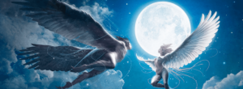 Making the Angels Flying on the Sky - Photoshop Lady