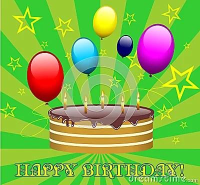 Fotografia Stock Libera da Diritti: Vettore della torta di compleanno. Immagine: 11258597