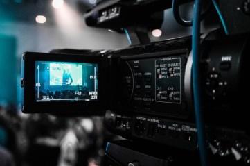 Video Camera Recording a Lecture