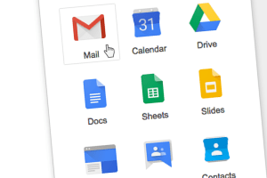 Google Apps with Cursor on Mail