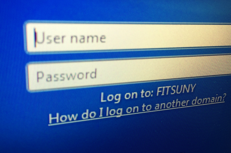 Windows Login Screen Focus on User name