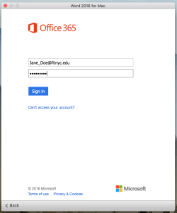 Office 365 Enter your Office 365 Password