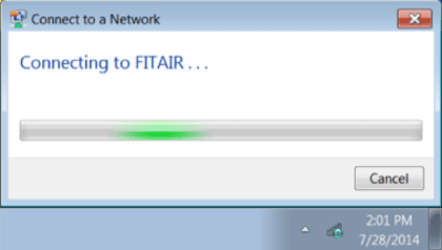 Connecting to FITAIR