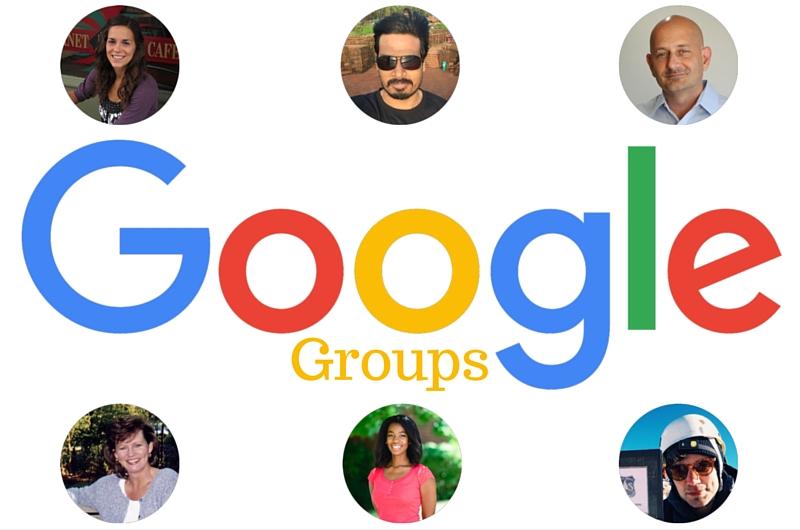 Google Groups Logo with Google Profile Photos 11