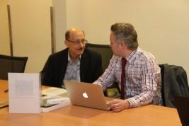 James Pearce and Harold Lederman at Cybersafe Day