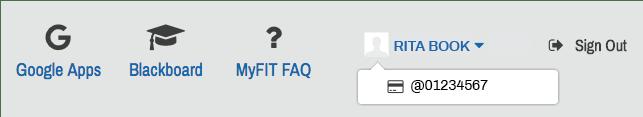 MyFIT ID Number