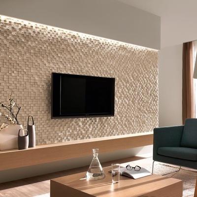Salone con inserti di pareti in pietra naturale. Idee E Foto Di Pareti Rivestite In Pietra Per Ispirarti Habitissimo