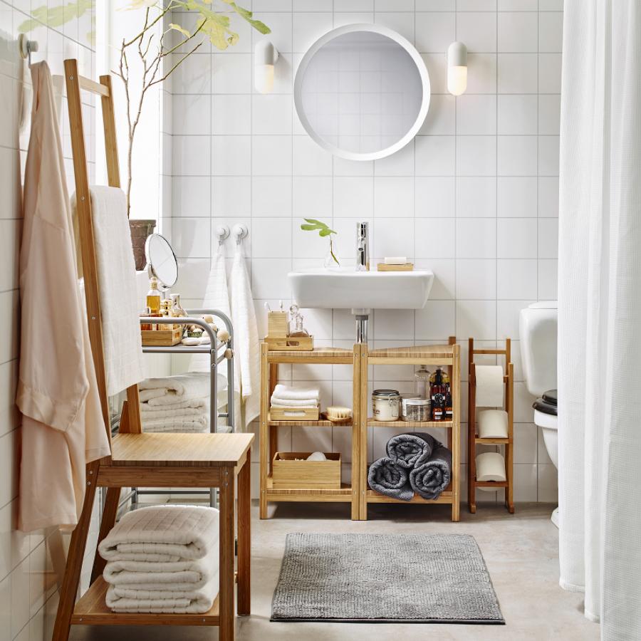 66,58 € | ikea mobile bagno 80 cm rovere con lavabo: Courant Fermement Convention Ikea Bagno Accessori Plombier En Dessous De Inconsistant
