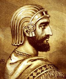 Ciro il Grande, il primo re di Persia, liberò gli schiavi di Babilonia nel 539 a.C.