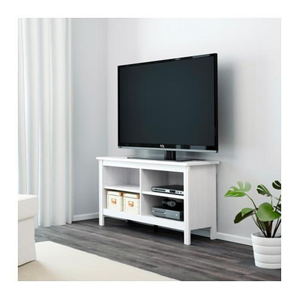 Porta Tv Brusali Bianco 120x36x62 Cm