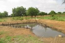 Bassin de rétention d'eau