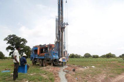 Forage d'un puits