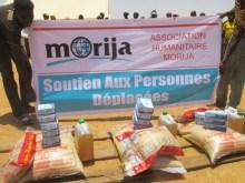 Morija sostegno agli sfollati