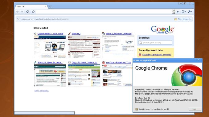 Chrome для Mac OS X и Linux