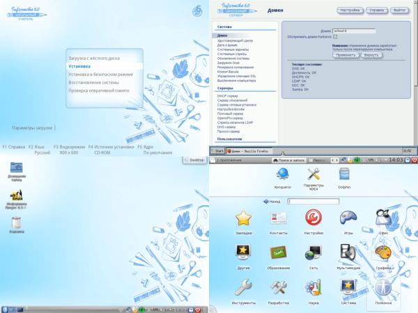 Дистрибутивы школьного Linux