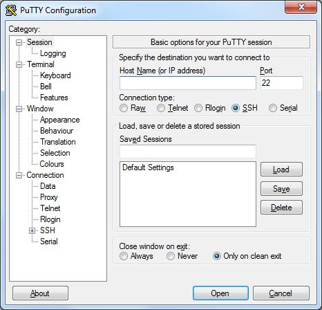 PuTTY-for-Ubuntu-server-14.04.1-LTS