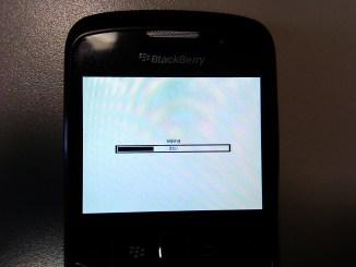 Сброс или очистка данных и настроек Blackberry