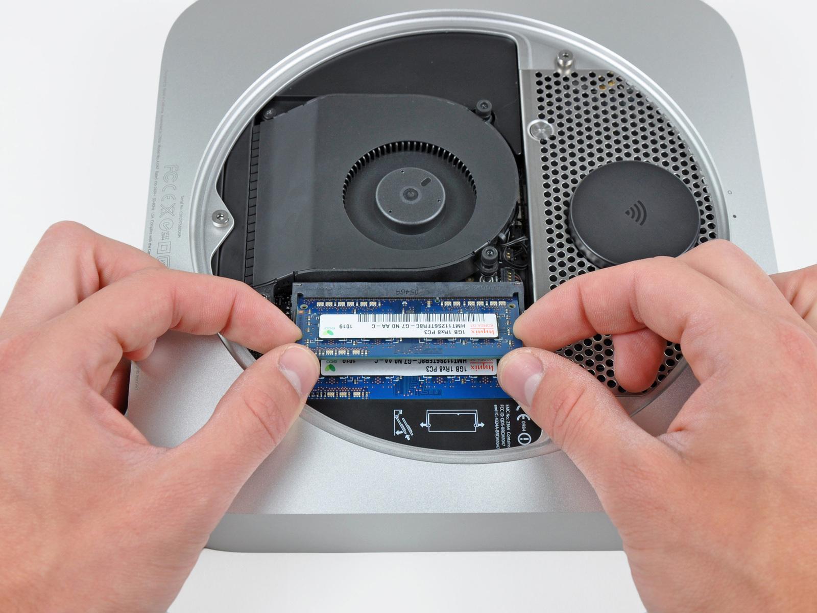 Mac Mini Late 2012 RAM Replacement