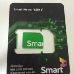 SMARTのSIMカード
