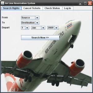 Lėktuvų bilietų sistema