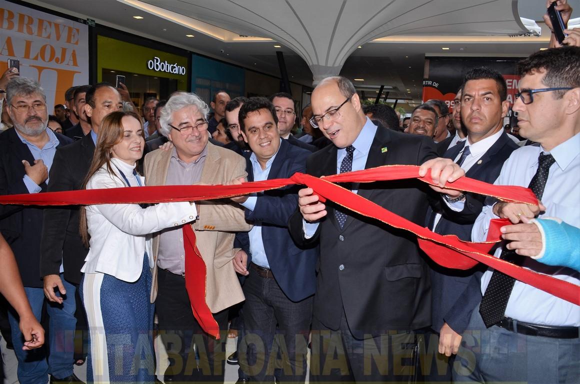VÍDEO- Governador Wilson Witzel promete recursos para a conclusão da ponte ligando São Francisco de Itabapoana a São João da Barra (21 de novembro de 2019).