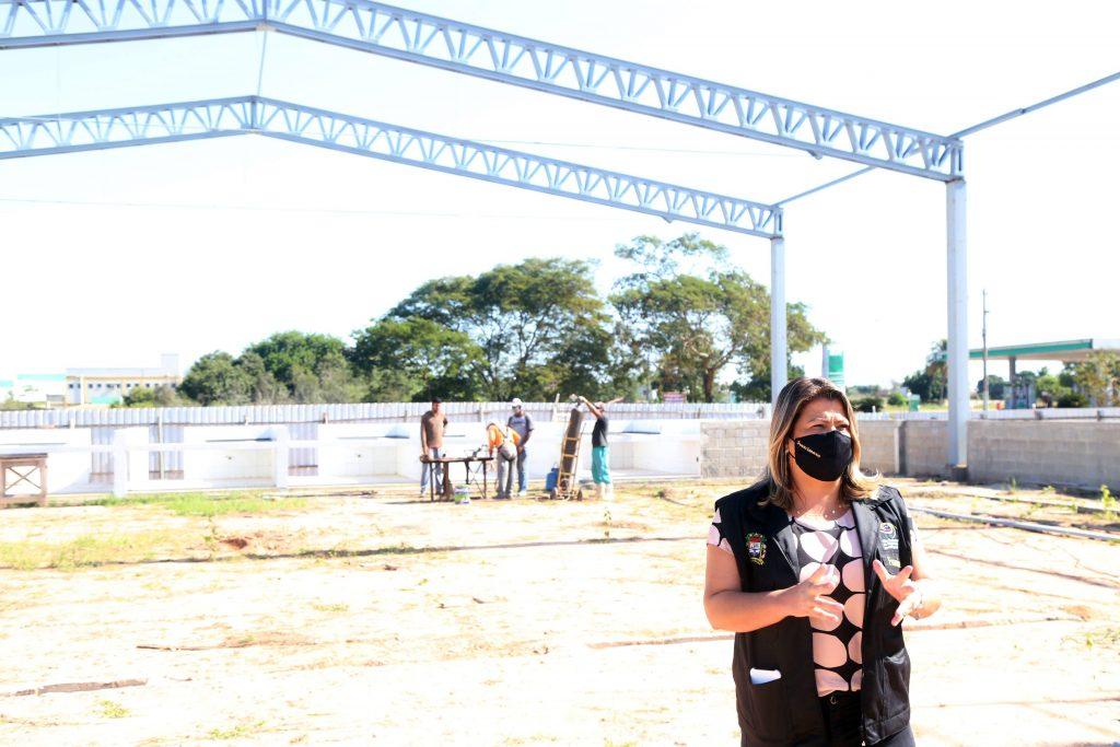Obras do Mercado Municipal avançam em SFI