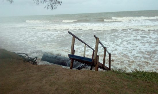 Defesa Civil alerta para possibilidade de ressaca entre sexta (31) e sábado (1º)