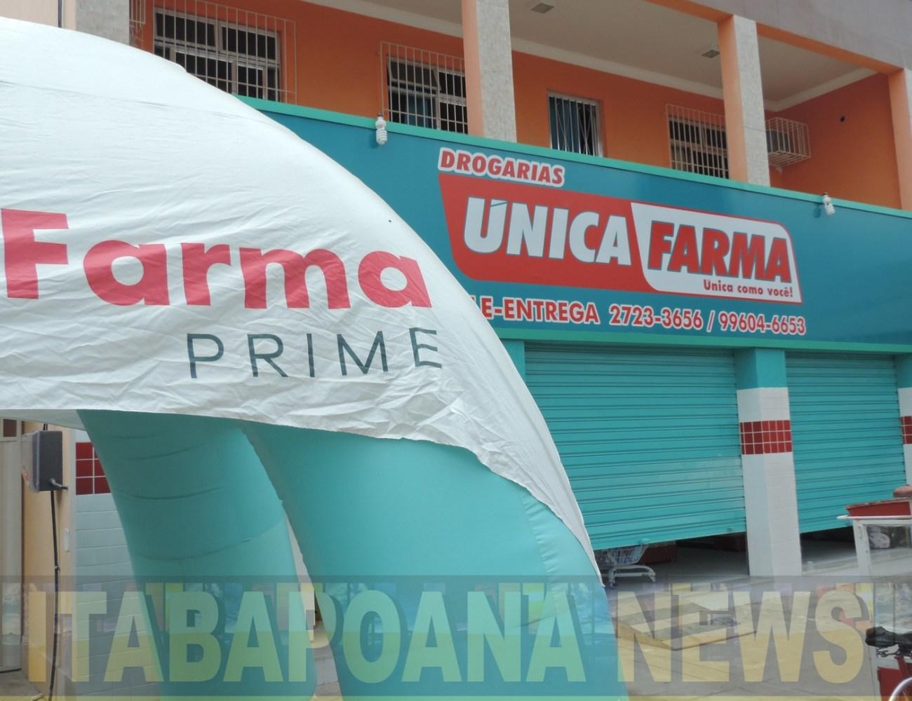 Vídeo – A rede de drogarias Única Farma, inaugura mais uma loja, agora em Bom Jesus do Itabapoana.