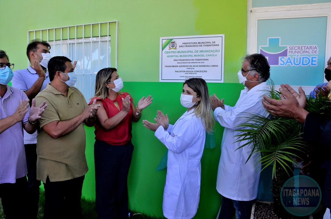 Prefeitura inaugura reforma do Centro Municipal de Imunização