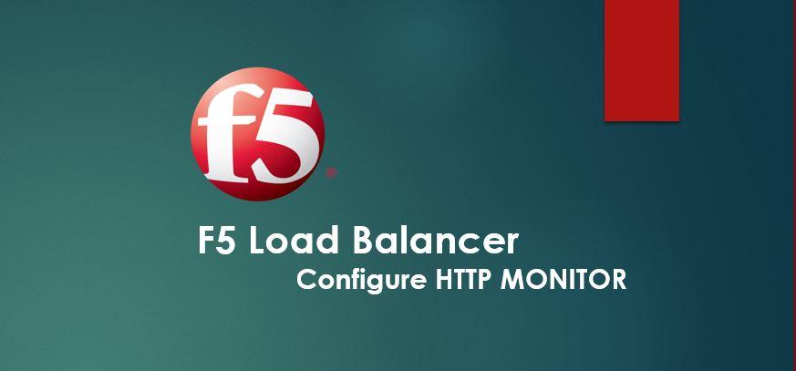 F5 Monitor Http Response Code