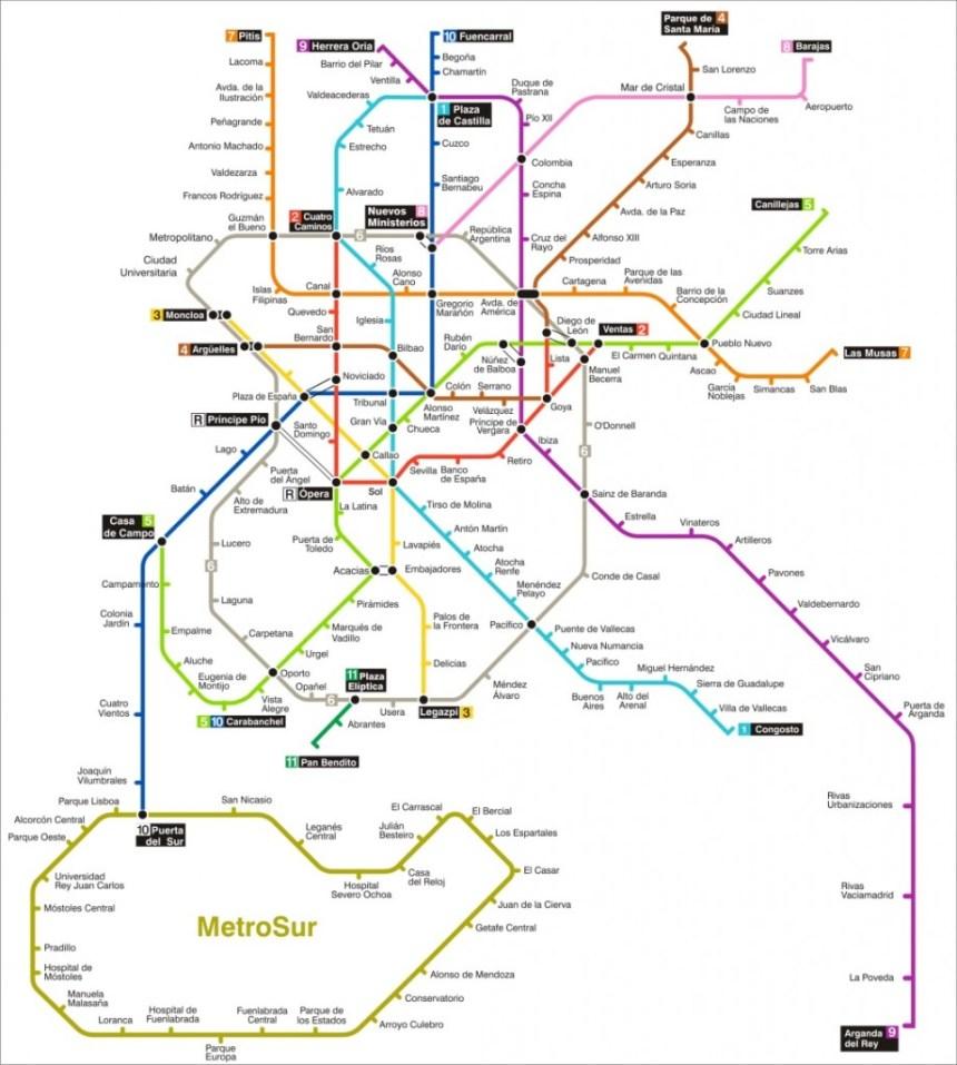metropolitana Madrid