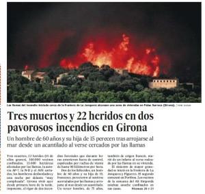 incendio Alt Empordà