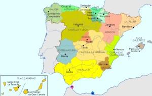 regioni spagna