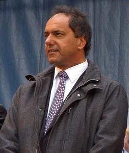 Daniel Scioli, candidato alla presidenza dell'Argentina