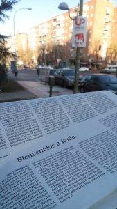"""""""bienvenidos a Italia"""" è il titolo di un articolo de El Paìs pubblicato sull'edizione di oggi 21 dicembre 2015"""