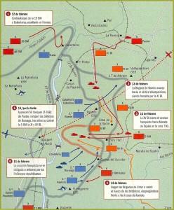 da Wikimedia Commons: il fronte della Battaglia del Jarama