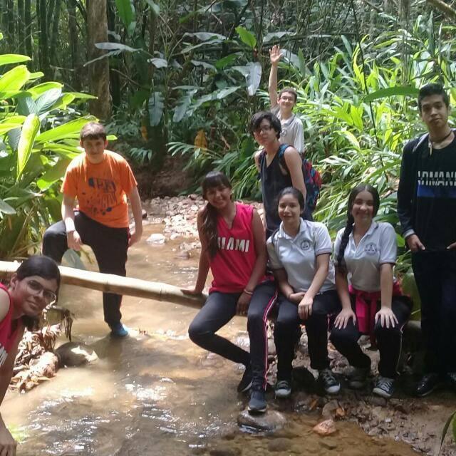 Recuperación del nacimiento de agua y biodiversidad del parque ecológico El Pomal.