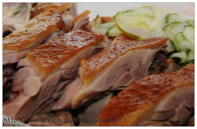 【食記】新竹。鴨肉許~煙燻鴨肉麵好吃耶!