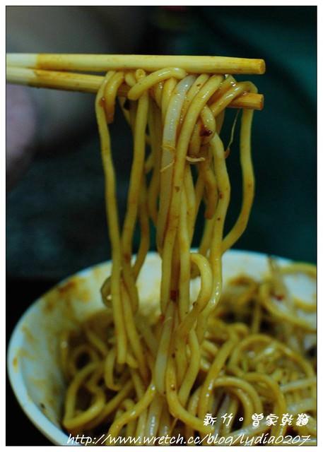 【食記】新竹。曾家乾麵~很特別的甜麵醬乾麵