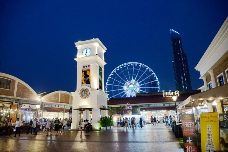 泰國曼谷旅遊|ASIATIQUE the riverfront河濱夜市 享受美食、購物樂趣